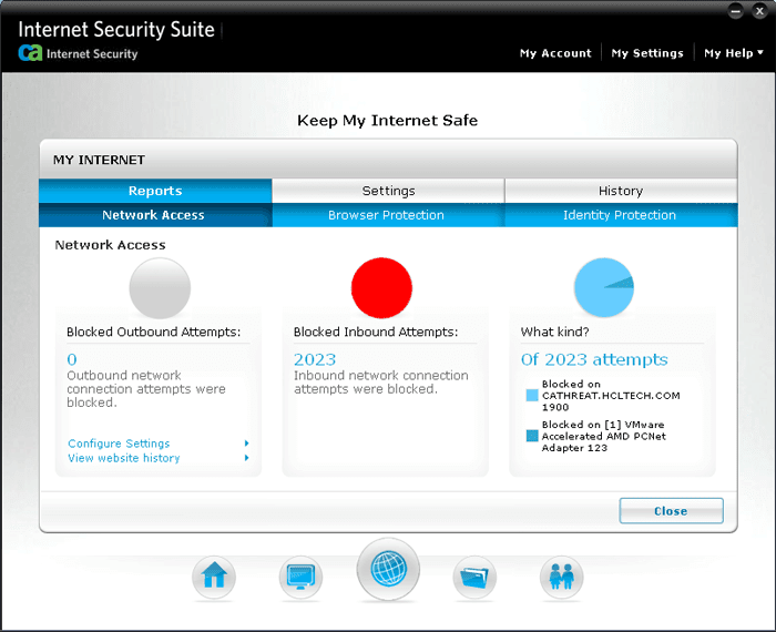 Download Free CA Internet Security Suite Plus 2010  6.0.0.272