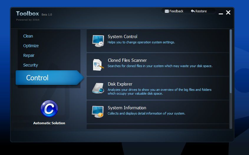 Download Free IObit Toolbox